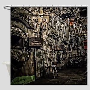 The Boiler Room Shower Curtain