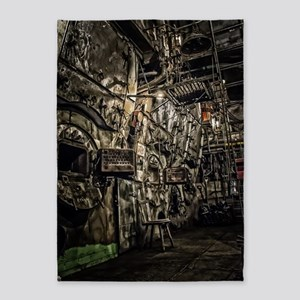 The Boiler Room 5'x7'Area Rug