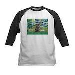 Bridge /Cairn Terrier (w) Kids Baseball Jersey