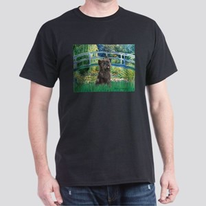 Bridge /Cairn Terrier (w) Dark T-Shirt