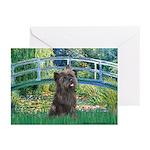 Bridge /Cairn Terrier (w) Greeting Cards (Pk of 20