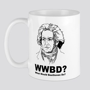 What Would Beethoven Do Mug