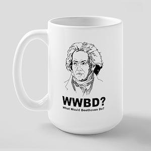 What Would Beethoven Do Large Mug