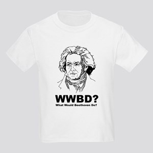 What Would Beethoven Do Kids Light T-Shirt