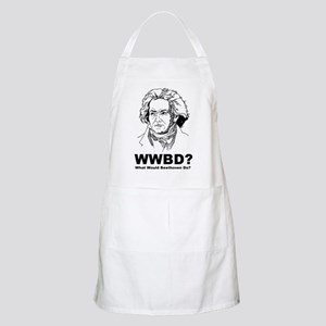 What Would Beethoven Do BBQ Apron