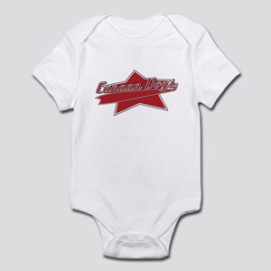 Baseball Canaan Dog Baby Bodysuit