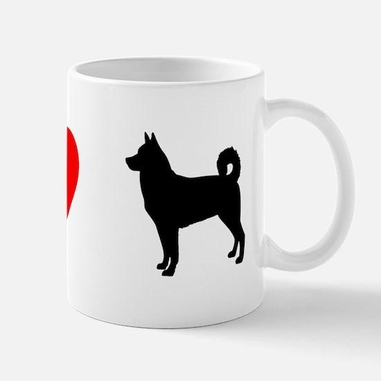 I Heart Canaan Dog Mug