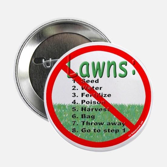 """Anti-Lawn 2.25"""" Button"""