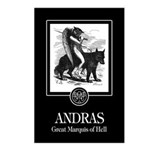 Andras Postcards (Package of 8)
