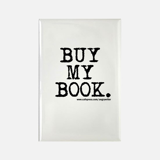 Buy My Book Rectangle Magnet