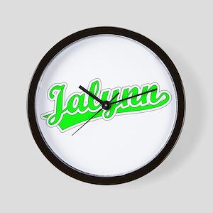 Retro Jalynn (Green) Wall Clock