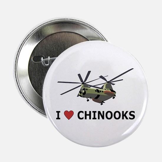 "I Love Chinooks 2.25"" Button"