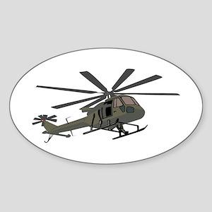 Huey Oval Sticker
