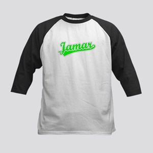 Retro Jamar (Green) Kids Baseball Jersey