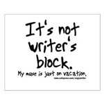 Writer's Block Small Poster