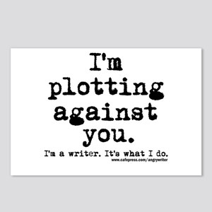 Plotting Against You Postcards (Package of 8)