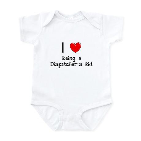Fire Dispatcher Infant Bodysuit