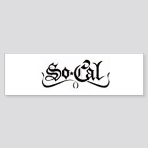 B/W So Cal Bumper Sticker (10 pk)