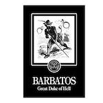 Barbatos Postcards (Package of 8)