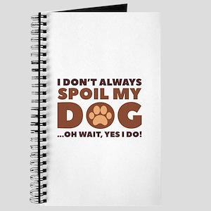 Spoil My Dog Journal