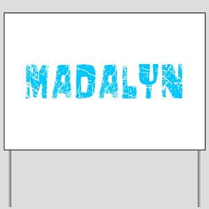 Madalyn Faded (Blue) Yard Sign