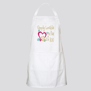 Lovable 100th BBQ Apron