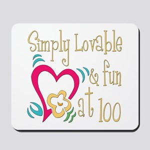 Lovable 100th Mousepad