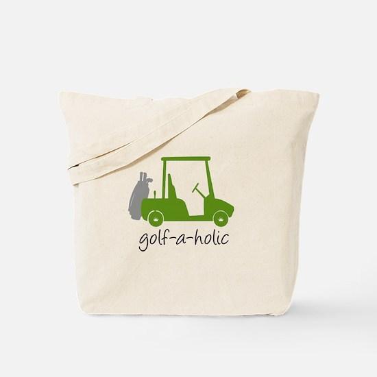 Golf-A-Holic - Golf Tote Bag