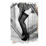 Thigh Highs Postcards (Package of 8)
