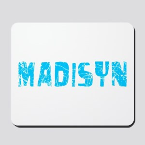 Madisyn Faded (Blue) Mousepad