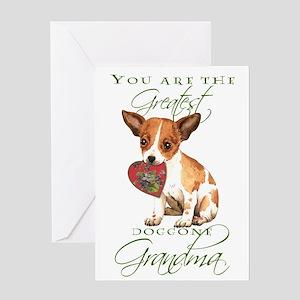 Chihuahua Grandma Mother's Day Greeting Card