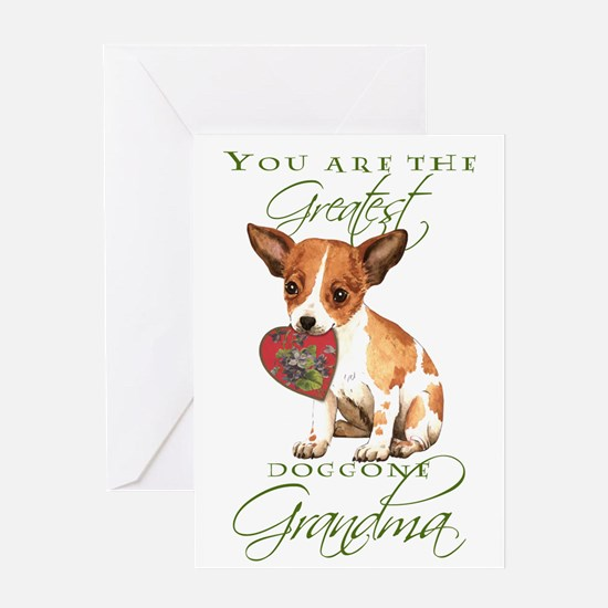 Chihuahua Grandma Mother's Day Greeting Card
