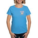 Marine Mom and Proud Women's Dark T-Shirt