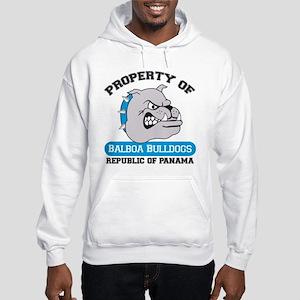 Bulldog Hooded Sweatshirt
