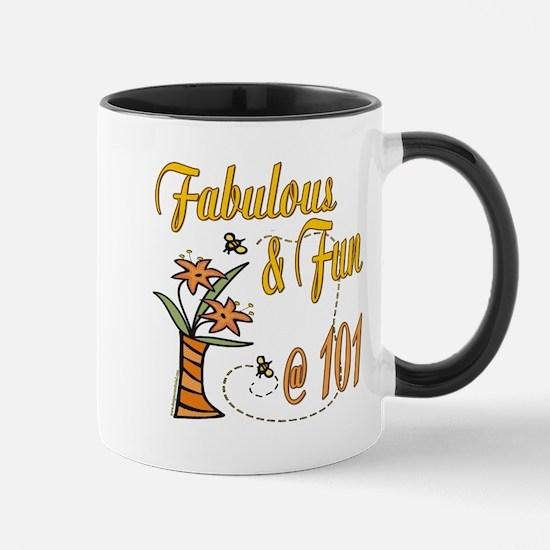 Floral 101st Mug