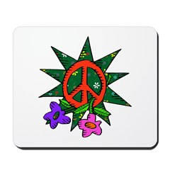 Earth Day Peace Mousepad