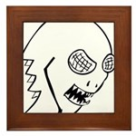 BugFace Framed Tile