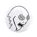 "BugFace 3.5"" Button (100 pack)"
