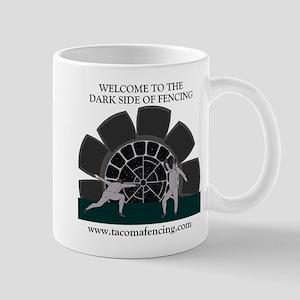 'Dark Side of fencing' Mug