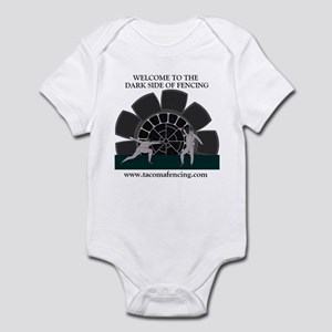 'Dark Side of fencing' Infant Bodysuit