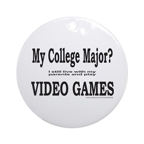 VIDEO GAME Ornament (Round)