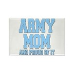 Army Mom and Proud of it Rectangle Magnet (100 pac