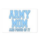 Army Mom and Proud of it Postcards (Package of 8)