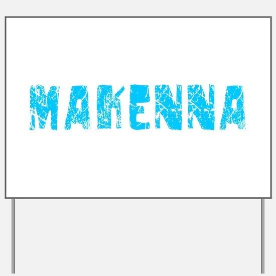 Makenna Faded (Blue) Yard Sign