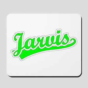 Retro Jarvis (Green) Mousepad
