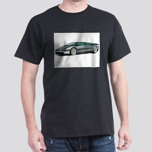DeLorean White Background T-Shirt