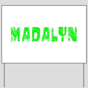 Madalyn Faded (Green) Yard Sign