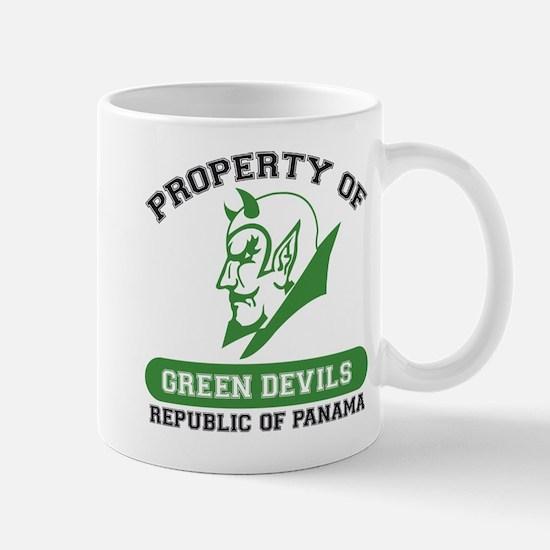 Unique Green Devils Mug