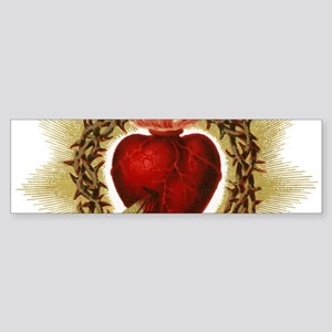 Sacred Heart Bumper Sticker