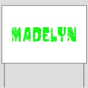 Madelyn Faded (Green) Yard Sign